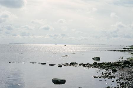 Strand ved kvindelejren