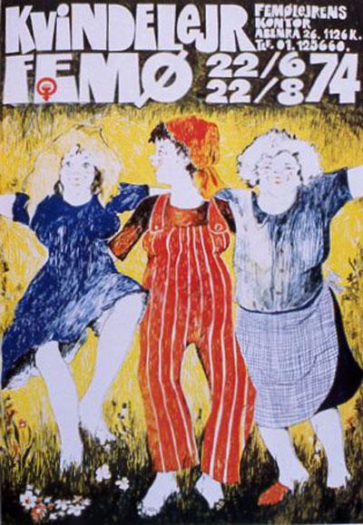 Femø plakat 1974