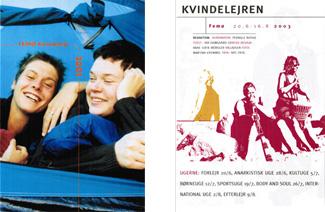 Pjece kvindelejren 2001 + 2003