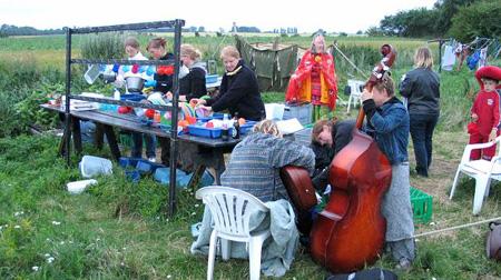 Opvask med musik